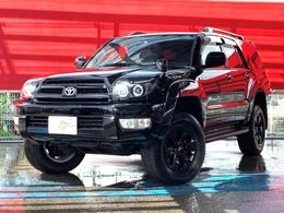 トヨタ ハイラックスサーフ 2.7 SSR-X 20thアニバーサリーエディション 4WD 限定車リフトアップJUNYANヘッドライトETC