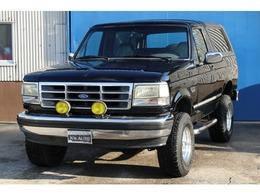 フォード ブロンコ XLT 5インチリフトアップ レザーシート