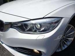 スモールリングを装備したキセノンライトが、BMWの存在感を発揮します!