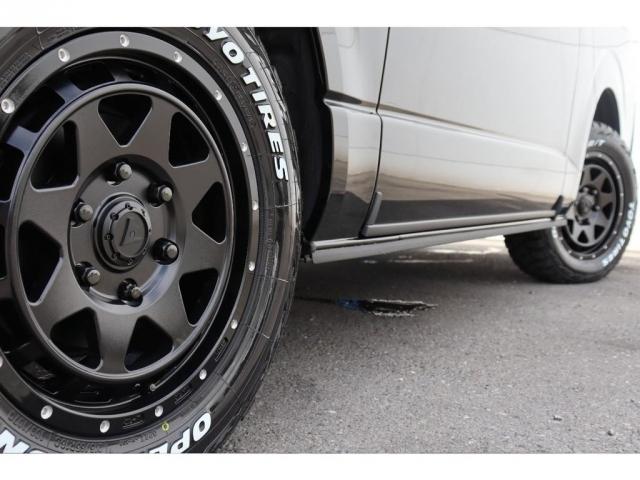 レオウイング16インチAWにオープンカントリータイヤを装着!おしゃれは足元から!!