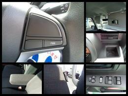 【モーターアシスト/パワーモード】・【パワーウィンドウ】・【フロントシートSRSサイドエアバッグ】・【パワーウィンドウ】など運転席回りの充実機能。