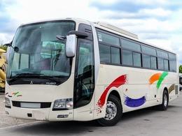 三菱ふそう エアロエース 50人乗りバス 観光仕様 ハイデッカー 貫通トランク3室 スイング式自動扉