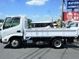 トラックでも綺麗に乗りたい!そんなお客様にボディーコーティングお勧めです!