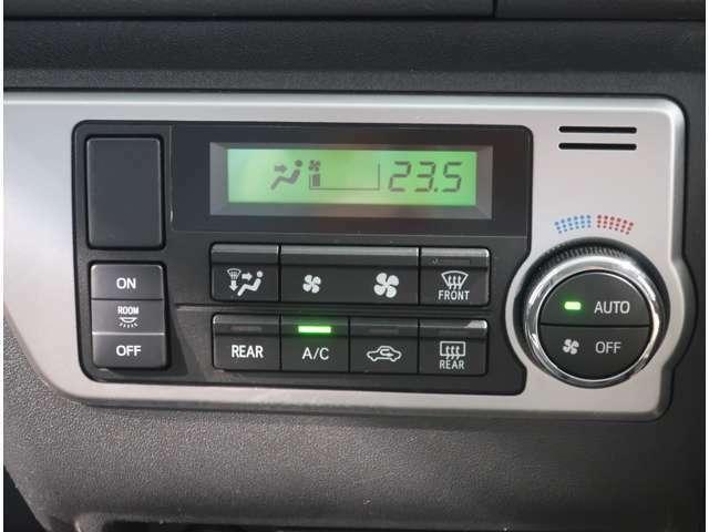 オートエアコンで、車内はいつも快適です(^^)