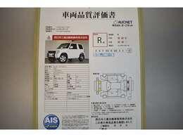 AIS社の車両検査済み!総合評価R点(評価点はAISによるS~Rの評価で令和2年9月現在のものです)☆お問合せ番号は40080580です♪