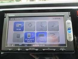 純正メモリーナビ(VXM-155VSi)です。DVD/CD再生のほかにもワンセグTV、Bluetooth連携機能も装備されとっても便利です!