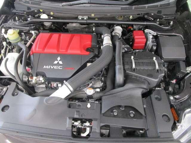 4B11型アルミブロック製2リッターMIVEC・DOHCツインスクロールインタークーラーターボエンジン!