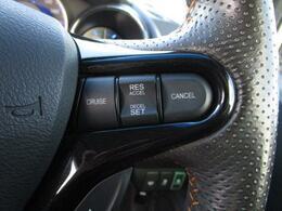 ■ 装備4 ■ クルーズコントロール:アクセルを踏まなくても一定の速度で走行出来ます!