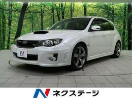 スバル インプレッサハッチバックSTI 2.5 WRX Aライン 4WD 禁煙車 黒革シ-ト 純正SDナビ