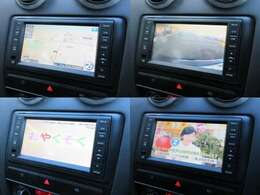 純正HDDナビが装備されております♪画面もクリアで運転中も確認しやすいです♪フルセグTVとDVDの視聴もお楽しみ頂けます♪安心のバックカメラ付♪Bluetoothで音楽も聴きながらドライブできます♪