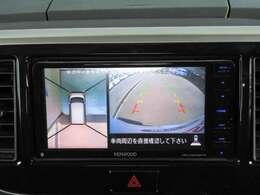 アラウンドビューモニターで駐車も安心です!!