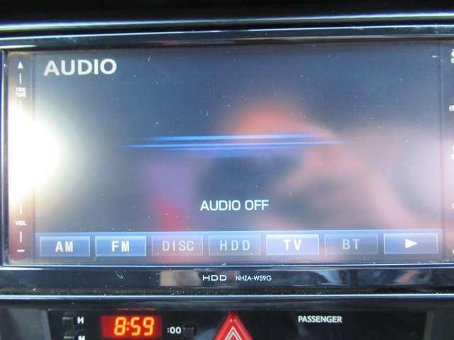 フルセグTV・Bluetooth