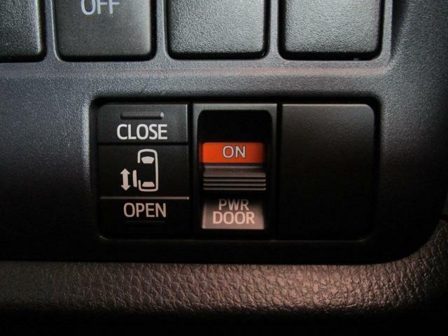 パワースライドドアなので運転席からも楽々開閉が出来ます!また状況に合わせてパワースライドドアはOFFにも出来ます!