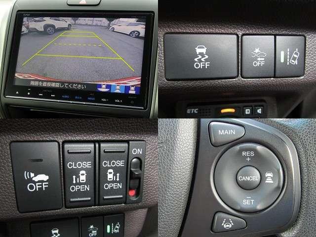 H28 フリードHV Gホンダセンシング ホンダセンシング/衝突軽減ブレーキ/車線逸脱警報/先行車発進アラート/ETC/誤発信抑制/レーダークルーズ/純正9インチナビ/Bカメラ/ドライブレコーダー/両側電動/LED/