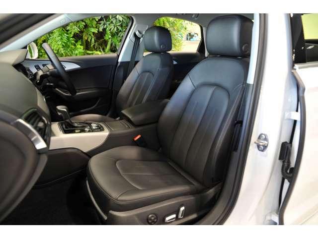 ドライブを快適+安心な空間にしてくれるAudiのシート。
