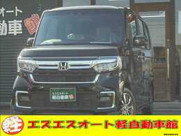 ホンダ N-BOX カスタム L Honda SENSING 届出済未使用車
