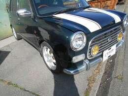 無料保証1か月1000K 車検価格含む!中古車のため、全車修復歴有で掲載。人気の5MTのミラジーノ・ローダウン ツートンです。お気軽にお電話下さい!0066-9711-925300