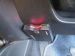 ドライブの必需品ETCついてます。