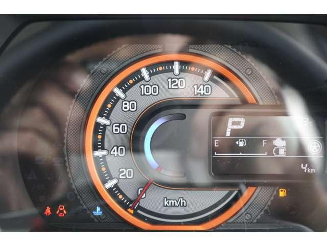 燃費など多彩な情報でドライブをサポートする、マルチインフォメーションディスプレーです