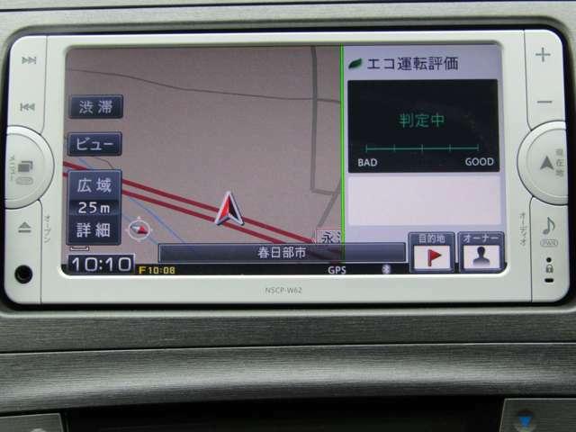 純正SDナビはバックカメラ・地デジチューナー・ブルートゥース音楽再生機能付で快適なドライブを演出してくれます!!