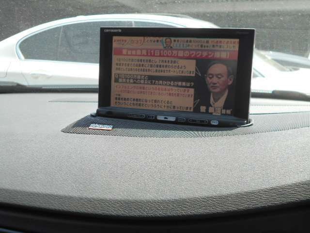 TV作動 バックカメラ付
