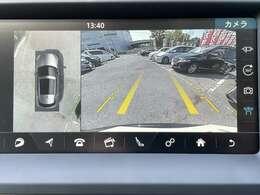 【全方位モニター】後方の映像はもちろん、上から見下ろした映像が駐車をアシストしてくれます!縦列駐車も安心です♪