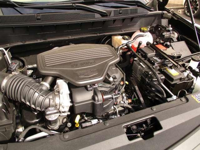 3.6リットルV6エンジン