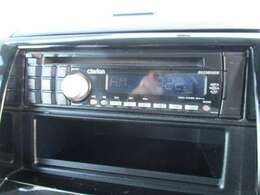 【オーディオ】 ラジオ、CDが視聴できます。