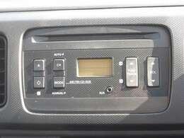 純正CDプレーヤー付きです!ラジオも聴けますよ♪
