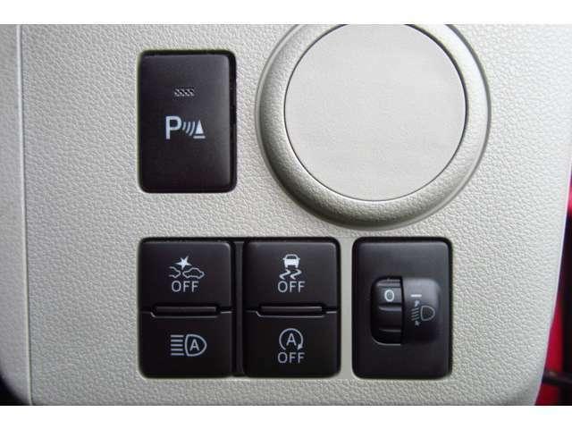 衝突被害軽減ブレーキやコーナーセンサー等安全機能も装備しています!