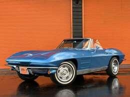 1964y(S39y)シボレーコルベットコンバーチブルスティングレー!C2コルベット!オリジナルレストア車両!平成28年レストア完了車両です!ナンバーマッチング車両!