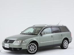 フォルクスワーゲン パサートワゴン W8 4モーション 4WD 買取車両/本革シート/左右W出しマフラー