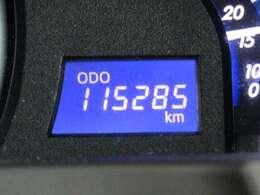 走行距離はおよそ115,000kmです。