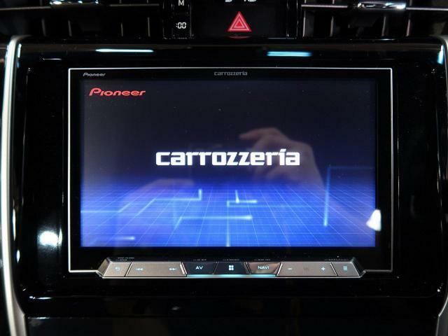 カロッツェリアナビ付き!地デジTV、DVD再生、音楽録音機能もあります!