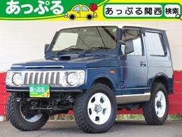 スズキ ジムニー 660 ランドベンチャー 4WD 4WD ターボ 全塗装ブルー 社外バンパー