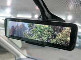 【インテリジェントルームーミラー】車両後方のカメラをインナーミラーに映すことで荷物や人がいても後方確認がラクラクです♪