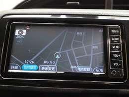 【ナビ】…トヨタ純正メモリーナビ搭載!ワンセグ、CD再生可能。更にBluetooth接続可能です。