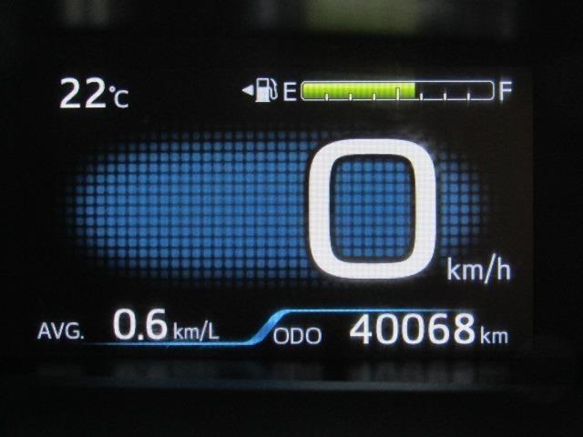 走行距離はおよそ40,000kmです。