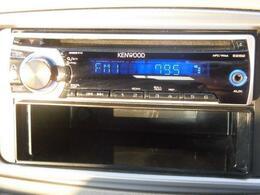 オーディオ機能はAM・FMラジオ・CDです。 ドライブをしながらお好みの番組・音楽を楽しめますね。