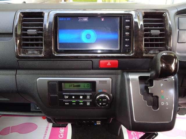 SDナビ・フルセグTV(DVD・CD・BT・SDオーディオ)・ルームミラー内蔵バックカメラ・ビルトインETC・純正セキュリティ・AC100V・USB電源×2シガーソケット×2!