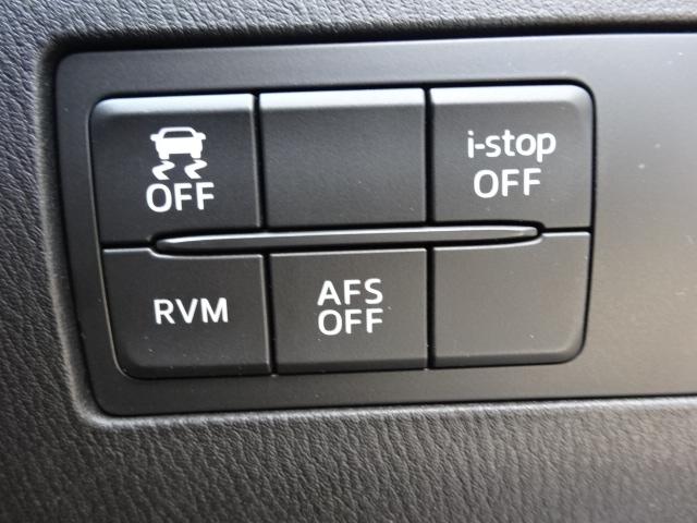 後方からの接近車両をお知らせするRVM(リアビークルモニタリングシステム)とDSC(ダイナミック・スタビリティ・コントロールシステム:横滑り防止)を装着。滑りやすい路面でも安定した走行姿勢を保てます。