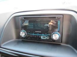 CDラジオデッキ付です!USB端子と外部入力端子も付いています!