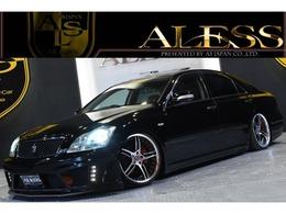 トヨタ クラウンアスリート 2.5 60thスペシャルエディション 黒革 サンルーフ 車高調 WORK19