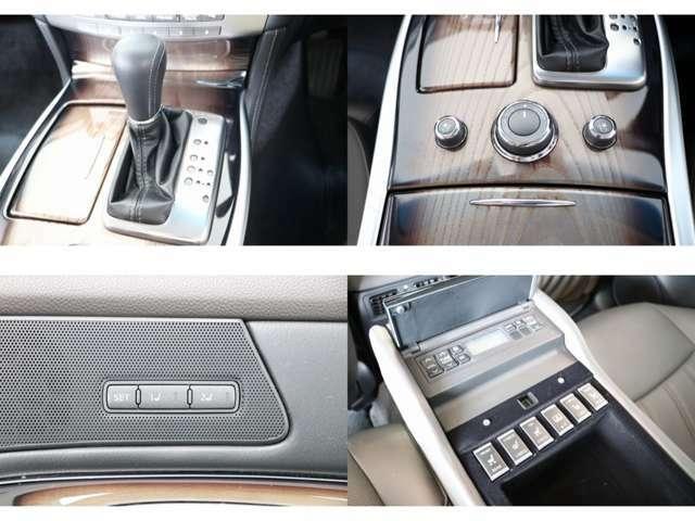 マニュアルシフトモード付AT エアコンディショニングシート(ベンチレーター&シートヒーター) リアサンシェード リアオーディオ&エアコンコントローラー リアシートヒーター