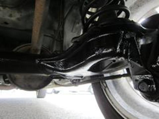 Aプラン画像:お車のシャーシブラック加工致します。お車の下廻りの錆び止めとなりますので、ご購入後もご安心下さい。