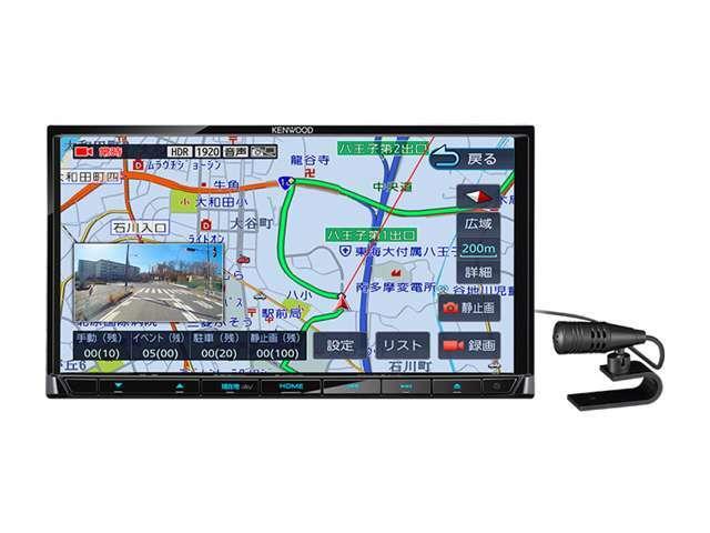 Bプラン画像:ケンウッド彩速ナビ MDV-D505BT.。地上デジタルTVチューナー/BluetoothR内蔵DVD/USB/SD AVナビゲーションシステム。