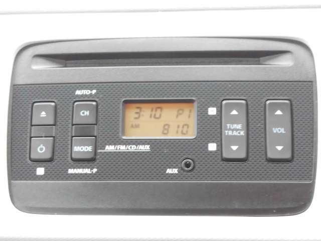 CDプレイヤー内蔵のAM・FMステレオラジオが装備されております。各種ナビゲーションの取扱いもしておりますので、お気軽にご相談下さい。