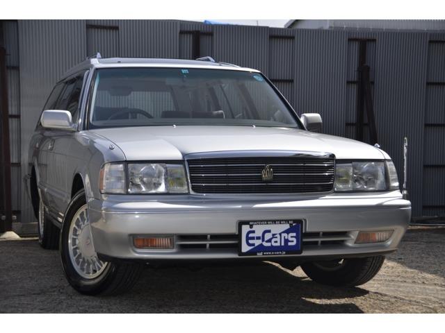 1998年(平成10年)10月登録 トヨタ クラウンステーションワゴン ロイヤルサルーン セパレートシート GF-JZS130G ステーションワゴン
