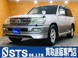 トヨタ ランドクルーザー100 4.7 VXリミテッド 60thスペシャルエディション 4WD 限定車 1ナンバー 純正ナビ 社外AW