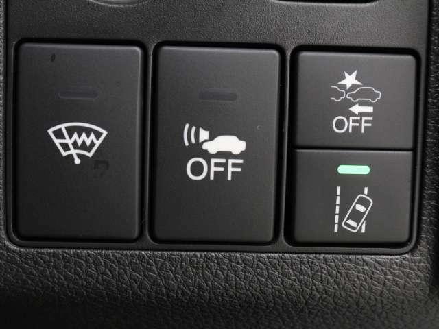 VSA(車両挙動安定化制御システム)を装着しています。走る・曲がる・止まるの全領域で安定性を確保する為のシステムです!